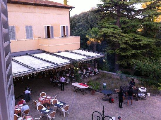 Villa Sabolini Hotel : Terras