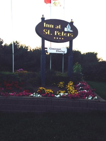 The Inn at St. Peters: Signage