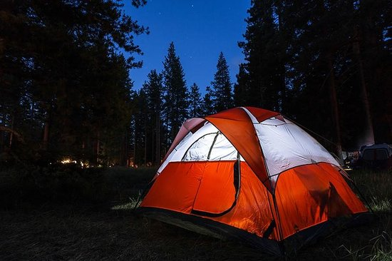 Campsite at night. More picture: - Camp Richardson Resort ... on lane county oregon map, camp richardson lake tahoe, camp richardson bike trail map, camp richardson rv map, richard camp camp map, lake tahoe map,