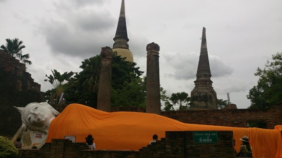 Wat Yai Chai Mang Khon : พระพุทธไสยาส์น