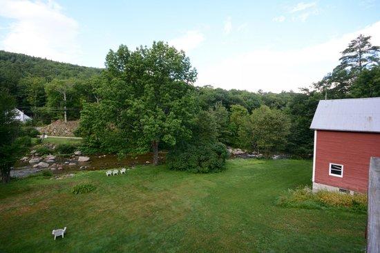Inn at Ellis River : View from Basin Room balcony