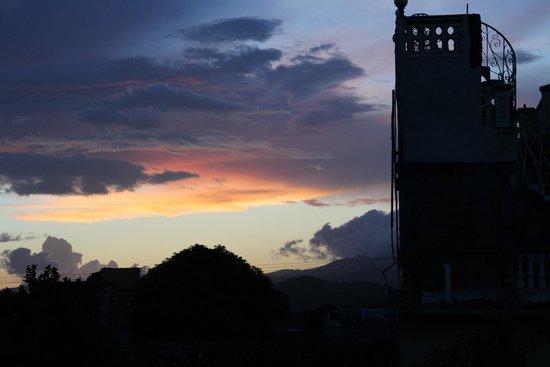 Hostal el Chef: Uitzicht vanaf dakterras