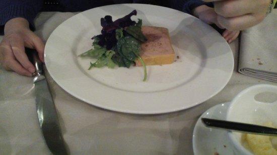 Le Poncel: entrée (foie gras)