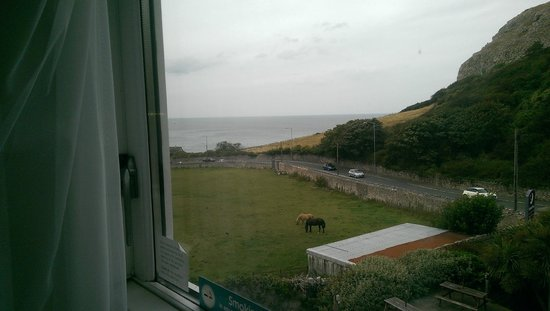 Premier Inn Llandudno North (Little Orme) Hotel: view across the sea from hotel room.