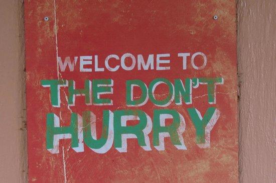 Cruzan Rum Distillery: More great signage!