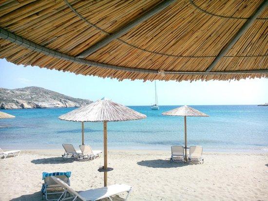 Koumpara Seafood Restaurant: chill out beach...