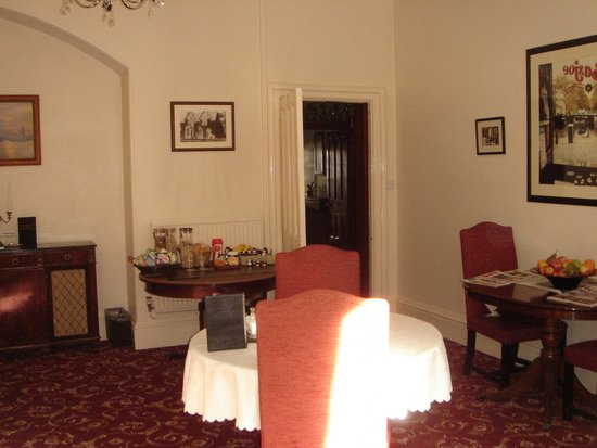 St. David's Guest House: dinning room
