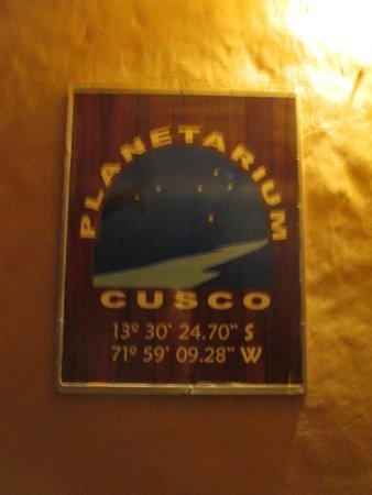 Planetarium Cusco: Poster picture