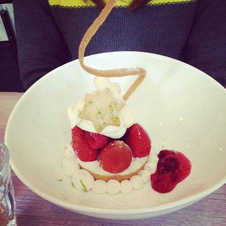 Chloée: Tarte aux fraises