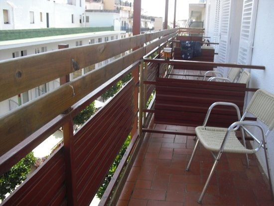 Hotel Mar Bella: balcone