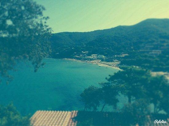 Hotel Hermitage -- Portoferraio : La vista sul golfo della Biodola...