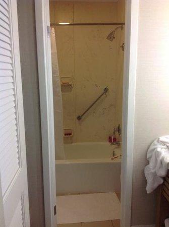 Sheraton Fisherman's Wharf Hotel: Small shower and bathroom