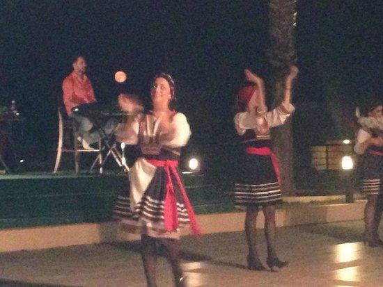 Kresten Palace: Greek night