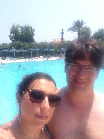 Kresten Palace: Pool area