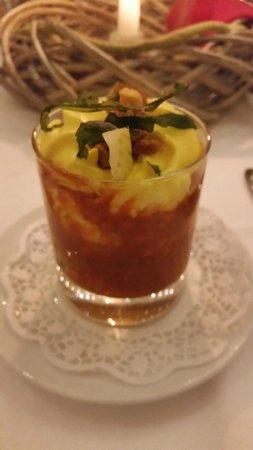 Van der Valk Hotel Berlin Brandenburg: Gazpacho soup