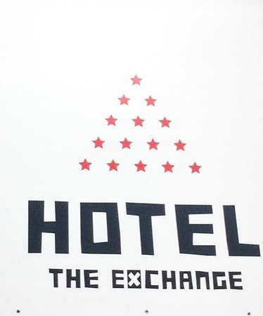 Hotel The Exchange : Entrance