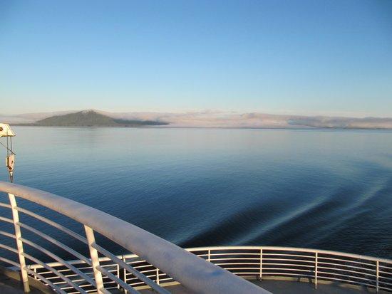 Alaska Marine Highway System - Day Cruises : Early morning on Matanuska