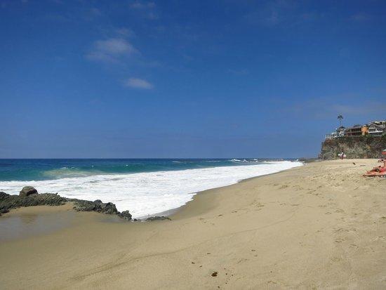 Laguna Beach : The Beach at a Thousand Steps in South Laguna