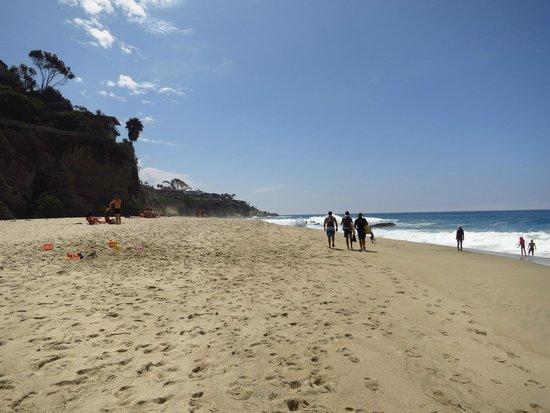 Laguna Beach : The beach at a Thousand Steps
