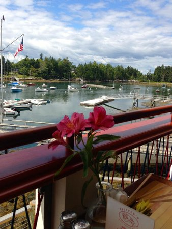Oliver's at Cozy Harbor: View from Oliver's upper deck
