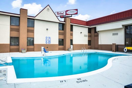 Red Roof Inn & Suites Cincinnati North-Mason: Pool