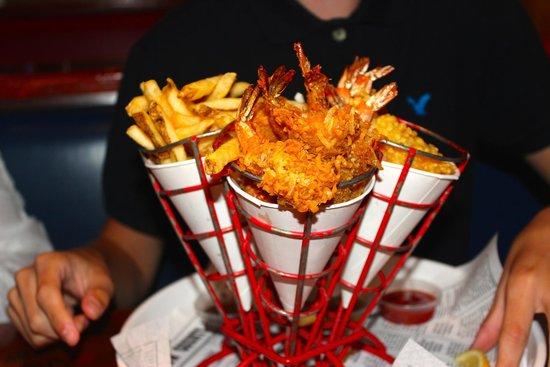 Bubba Gump Shrimp Co. : Great kids meal