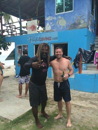 Felipe Diving Center: Me and Felipe