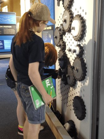 Buffalo Museum of Science: Part of the In Motion exhibit