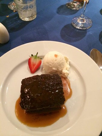 BEST WESTERN Burnside Hotel: Sticky toffee pudding!