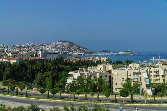 Ozka Hotel: View from terrace