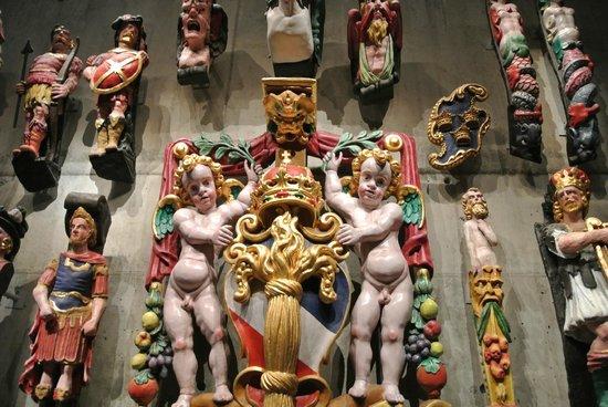 Musée Vasa : Figuren Im Vasamuseum