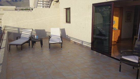 Fanabe Costa Sur Hotel: our balcony junior suite