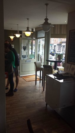 The Artisan: A photo of the entrance to the cafe.