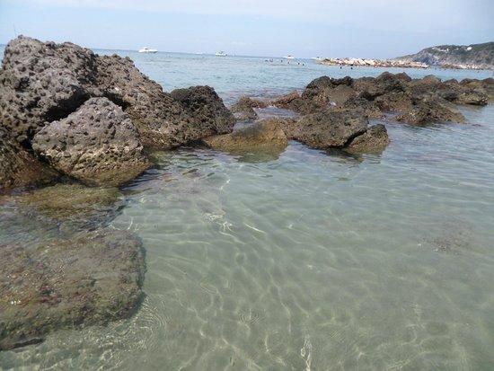 Spiaggia di Citara : scogli