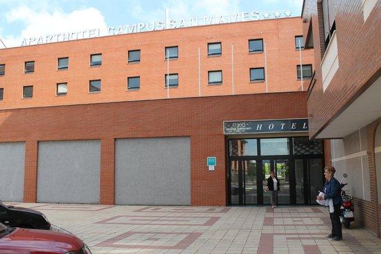 Apartahotel Exe Campus San Mamés: Vista apartahotel