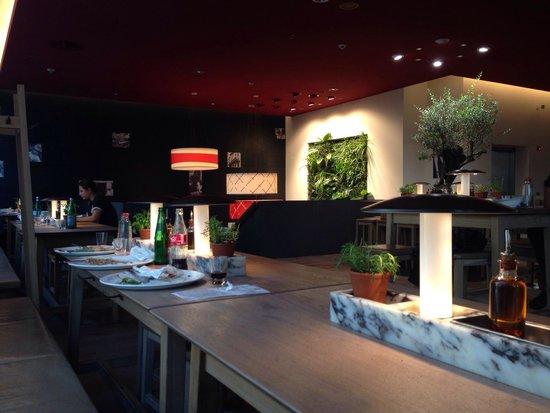 Vapiano: Cool decoration