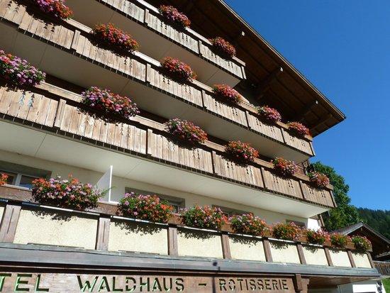 Waldhaus-Huldi: Hotel Frontage