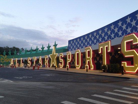 Disney's All-Star Sports Resort: fachada