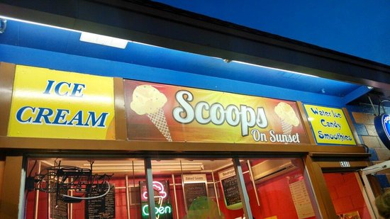 Scoops on Sunset