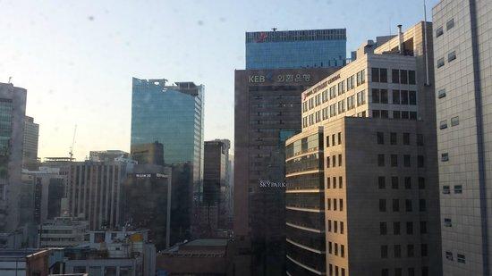 Hotel Jhill : panorama dalla nostra camera