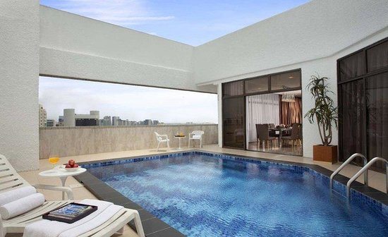 Far East Plaza Residences by Far East Hospitality: Refurb Penthouse Swimming Pool