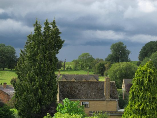 Cotswold House Hotel & Spa: View from the windows Room 25