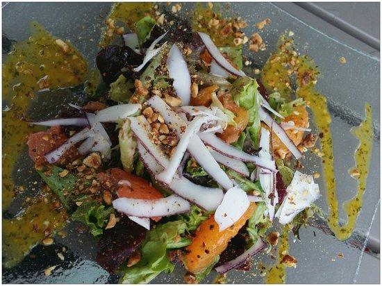 Spice Bistro: Marakeesh Beet Salad. EXCELLENT