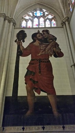 Catedral Primada: el santo que no es santo
