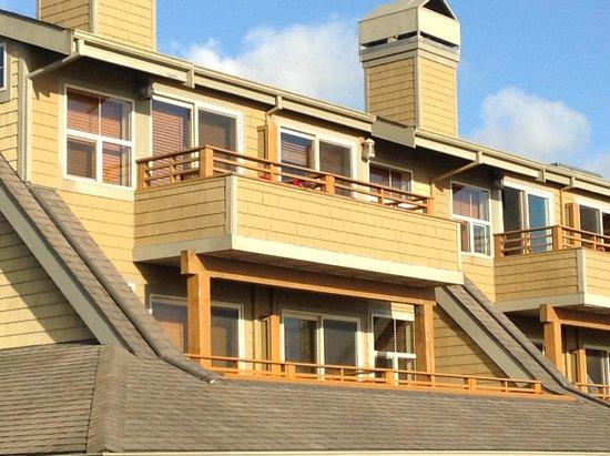 The Ocean Lodge: Nice little balcony