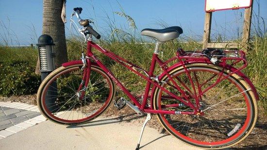 Kimpton Vero Beach Hotel & Spa : Kostenlose Hotel-Fahrräder