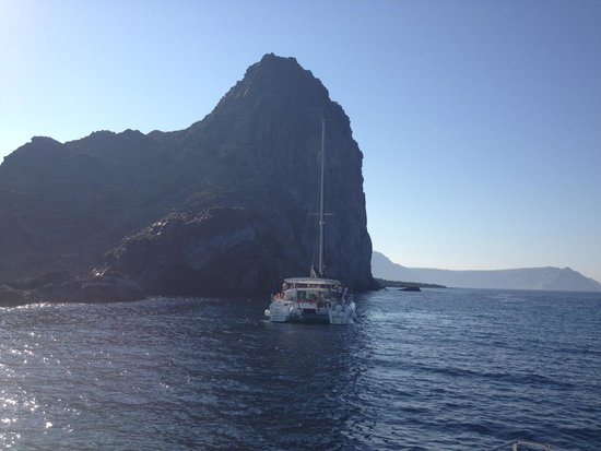Sunset Oia Sailing - Day Tour: View from the boat