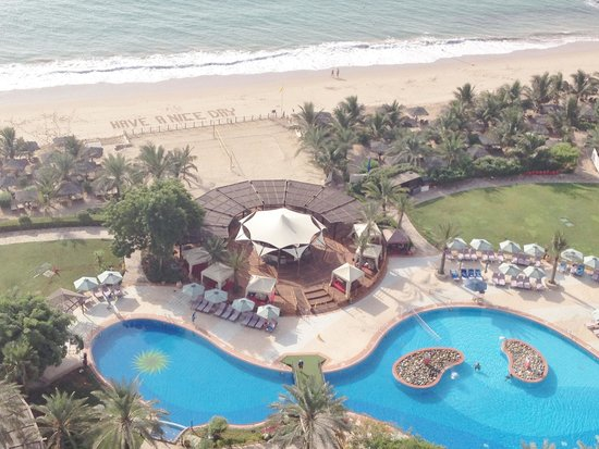 Le Meridien Al Aqah Beach Resort: From the balcony