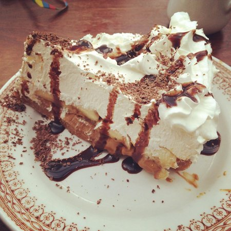 Yew Tree Inn: Banoffee pie