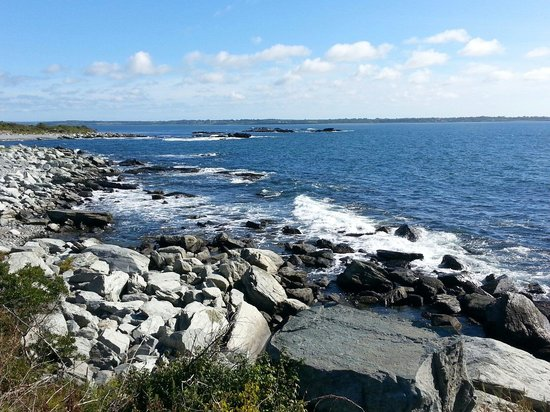 Sachuest Point National Wildlife Refuge: One of many spectacular views.